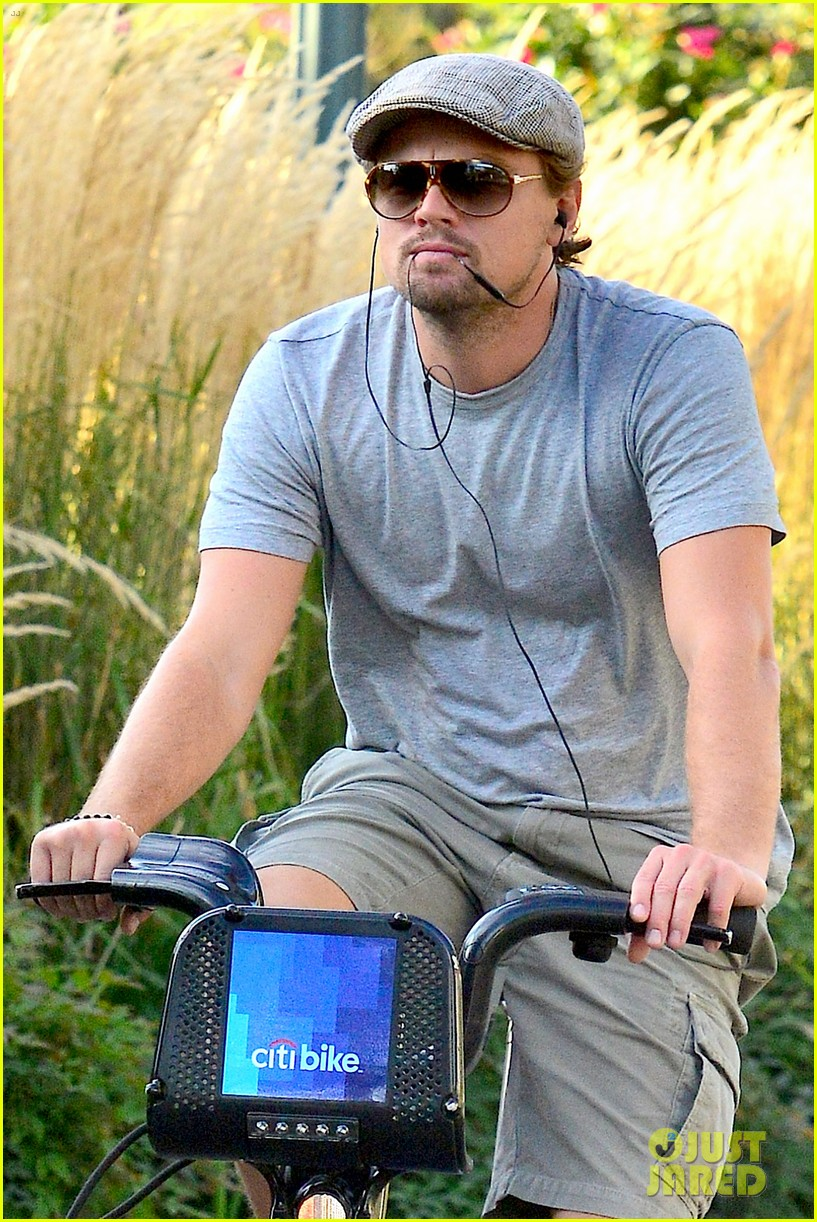 leonardo dicaprio citibike ride after us open date 062944074