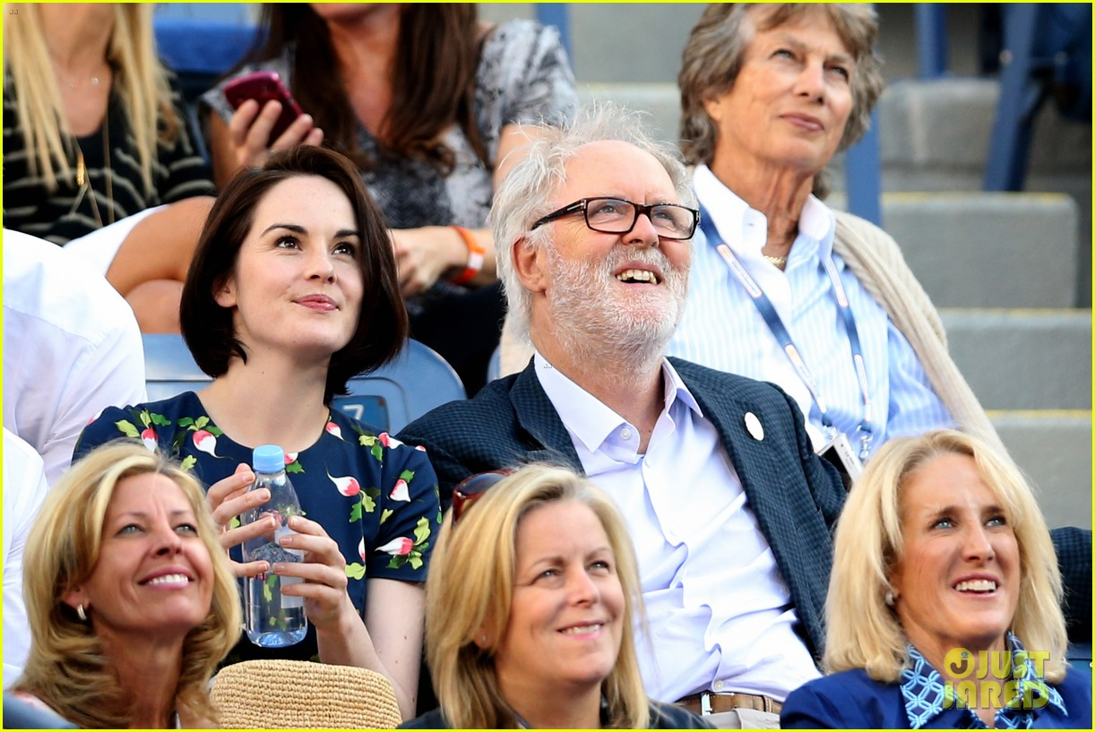 michelle dockery boyfriend john dineen watch us open 062945820