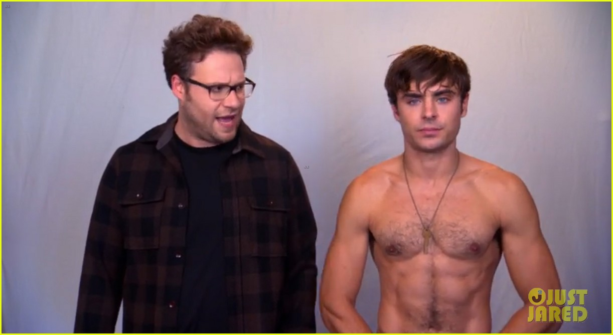 zac efron goes shirtless in neighbors tv spot watch now 04
