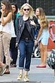 dakota fanning jamie strachan hold hands in new york 08