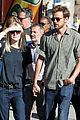 dakota fanning jamie strachan hold hands in new york 15