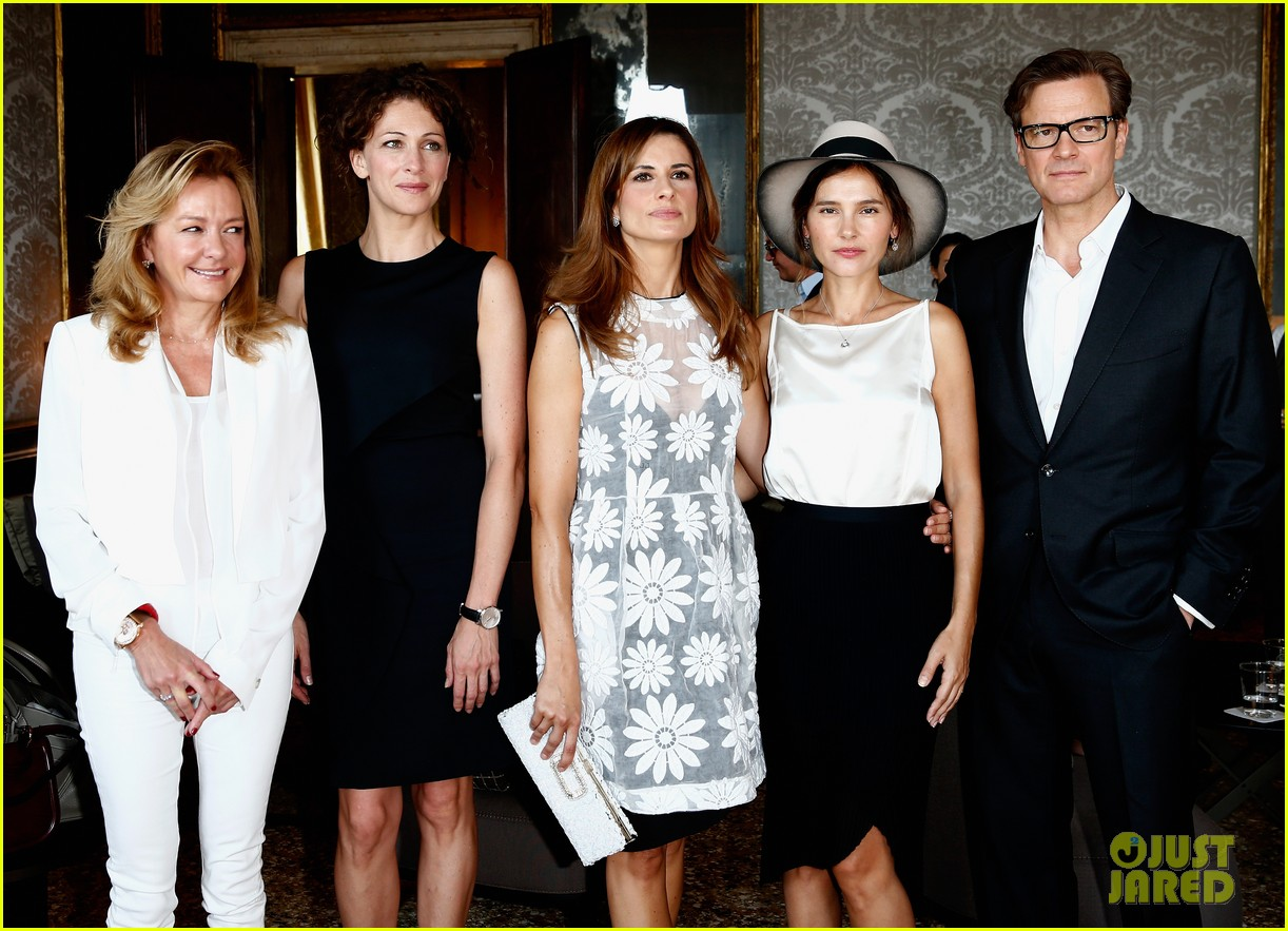 colin firth chopard photo call with livia giuggioli 032943452