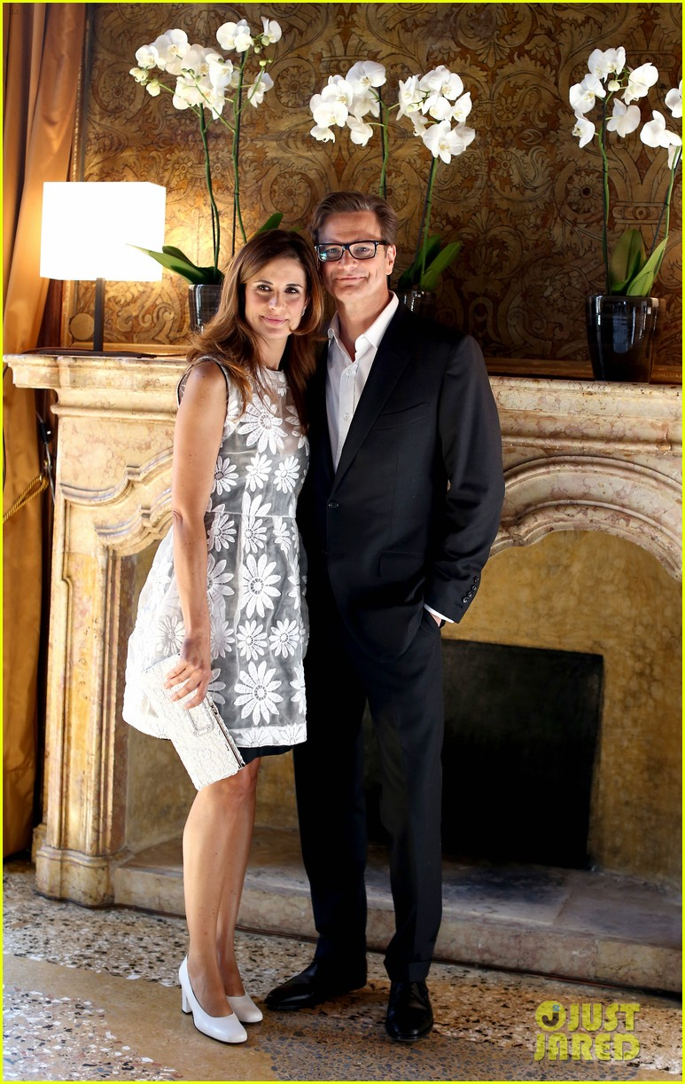 colin firth chopard photo call with livia giuggioli 12