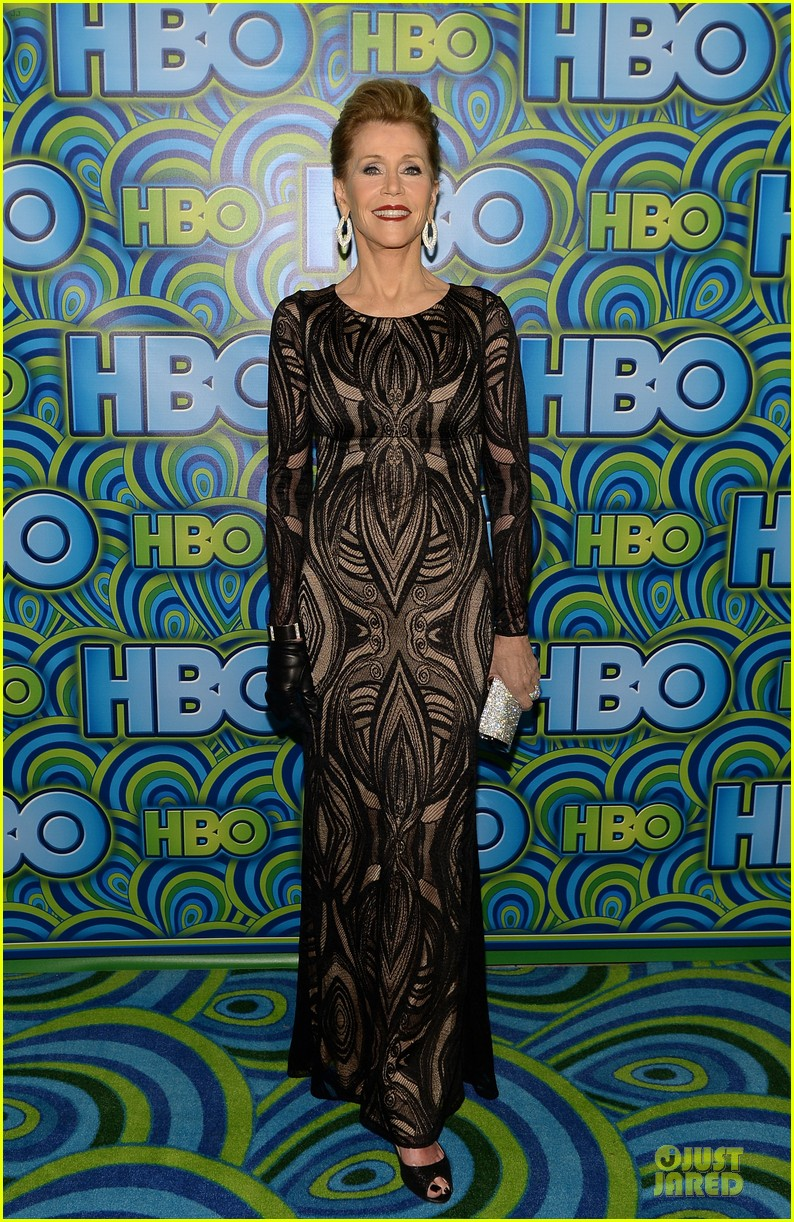 jane fonda marcia gay harden hbo emmys after party 2013 06