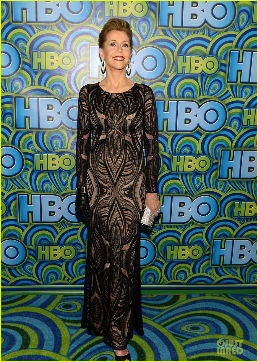 jane fonda marcia gay harden hbo emmys after party 2013 082958741