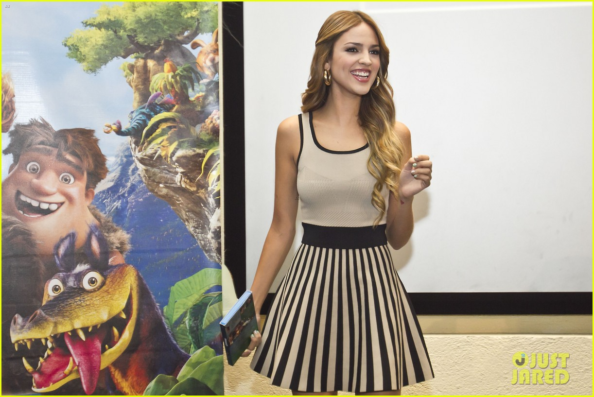 eiza gonzalez promotes croods after liam hemsworth fling 022955741