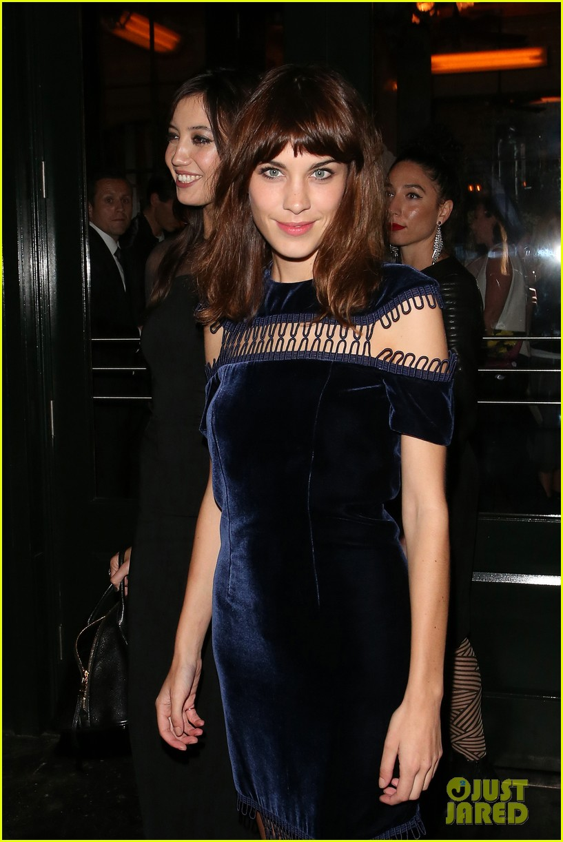 ellie goulding alexa chung british vogue lfw dinner 09