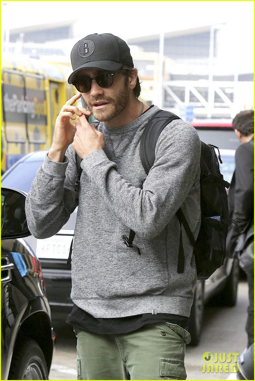 jake gyllenhaal james franco land in los angeles after tiff 15
