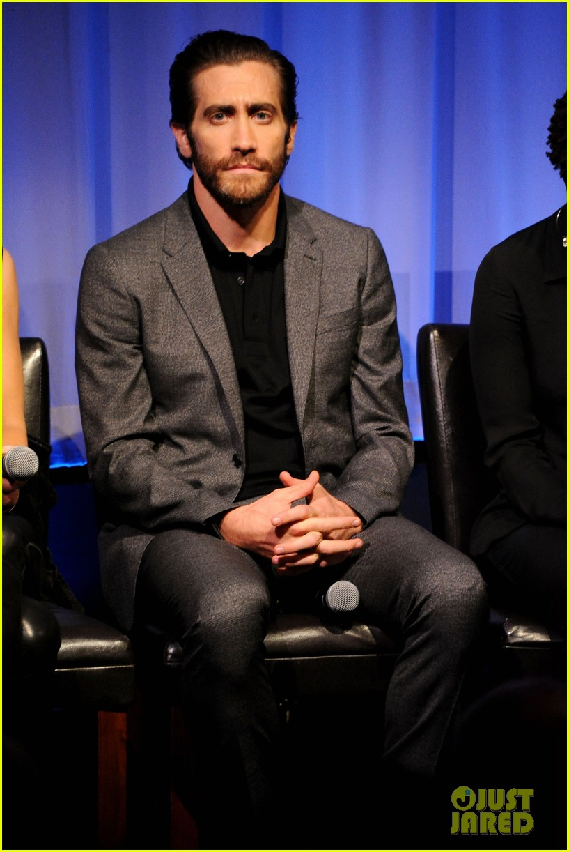 jake gyllenhaal hugh jackman prisoners ampas screening 182955893
