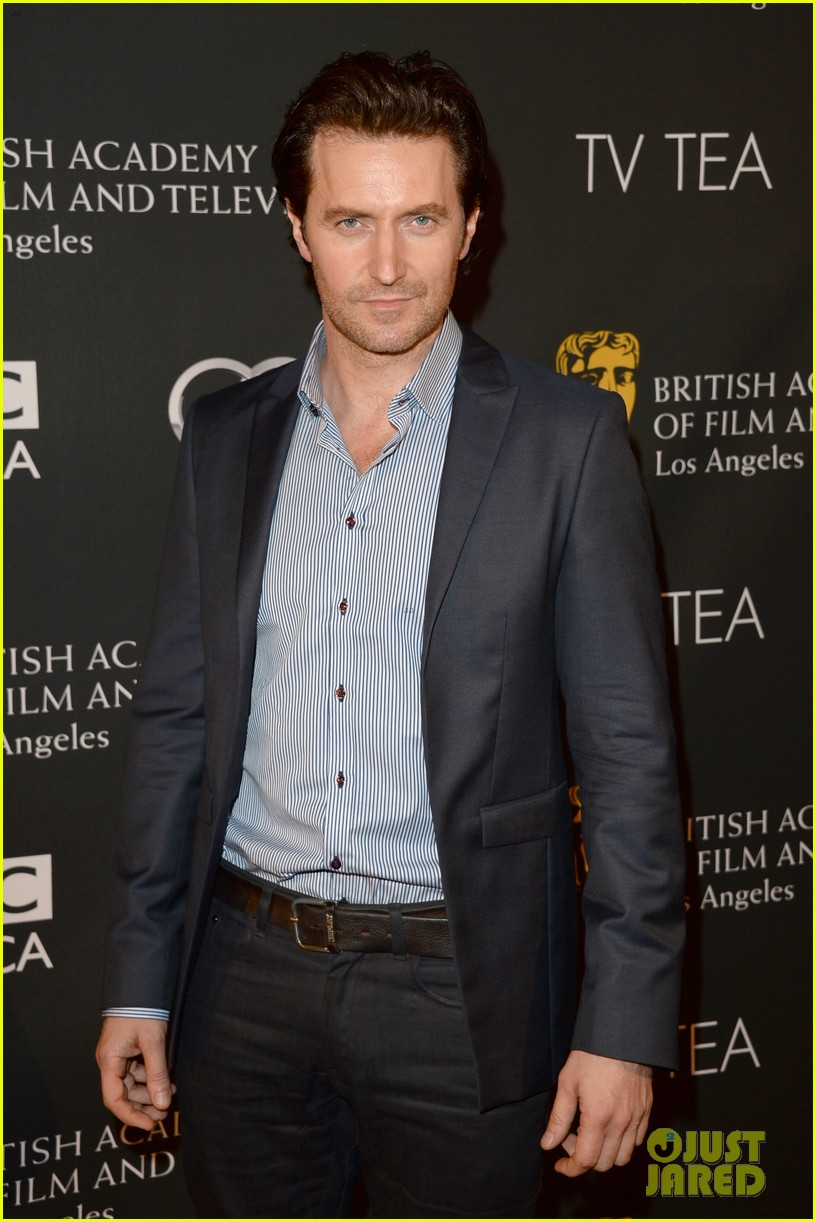 kit harington richard armitage bafta la tv tea party 2013 29