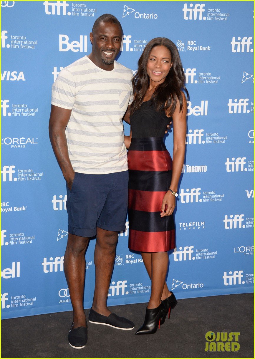 naomie harris idris elba mandela tiff press conference 032946986