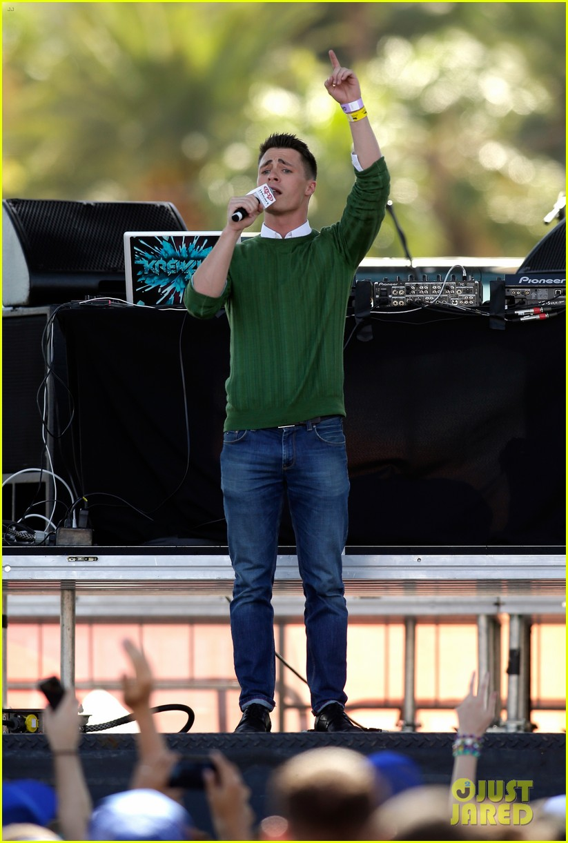 colton haynes shay mitchell lucy hale iheartradio guests 06
