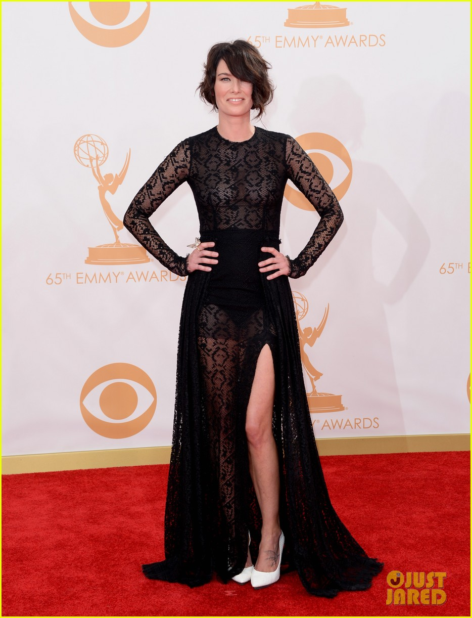 lena headey emmys 2013 red carpet 022958323