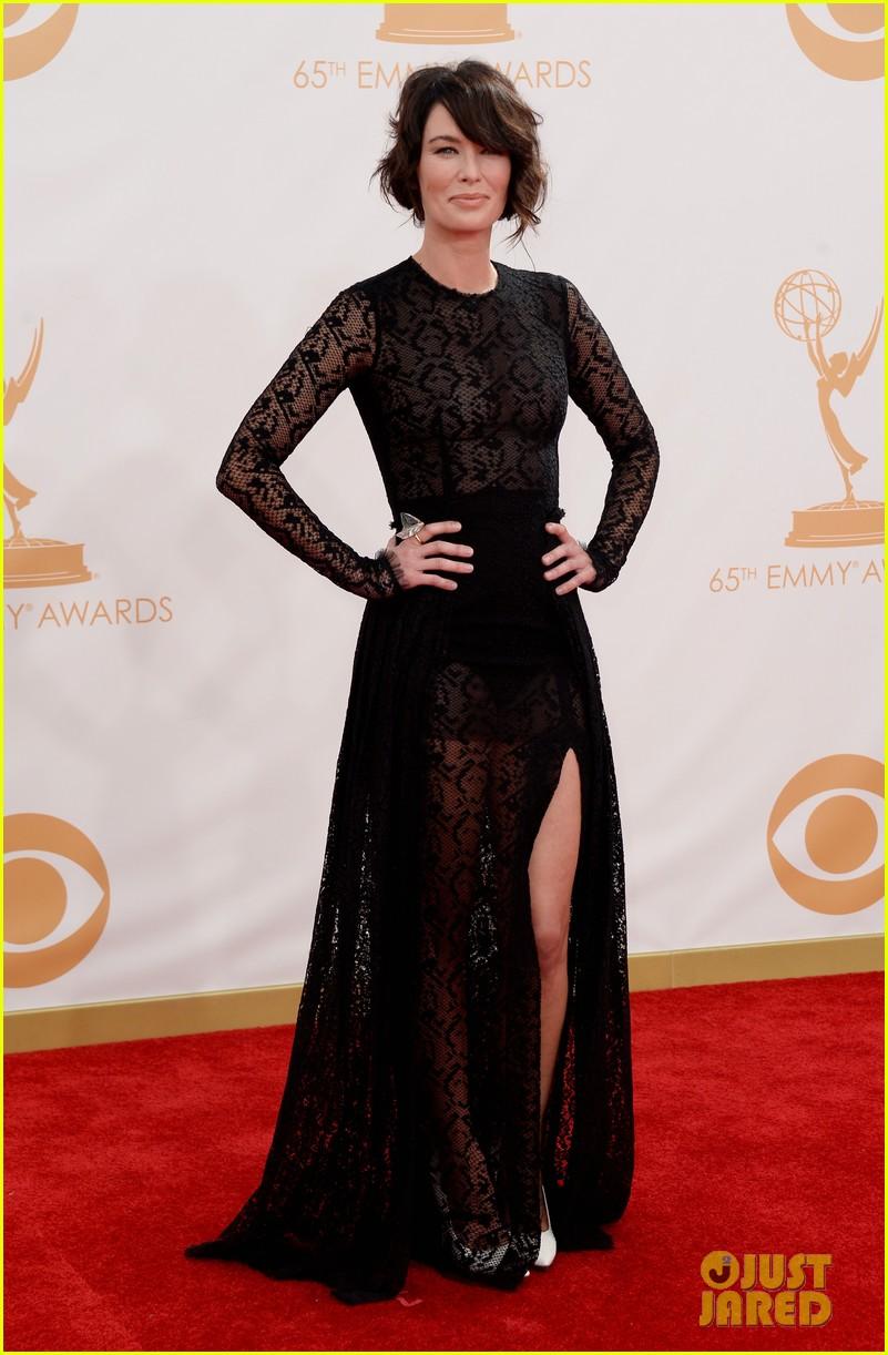 Lena Headey Lena Headey Emmys 2013 Red