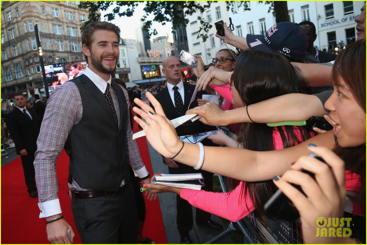 liam hemsworth supports brother chris at rush premiere 10