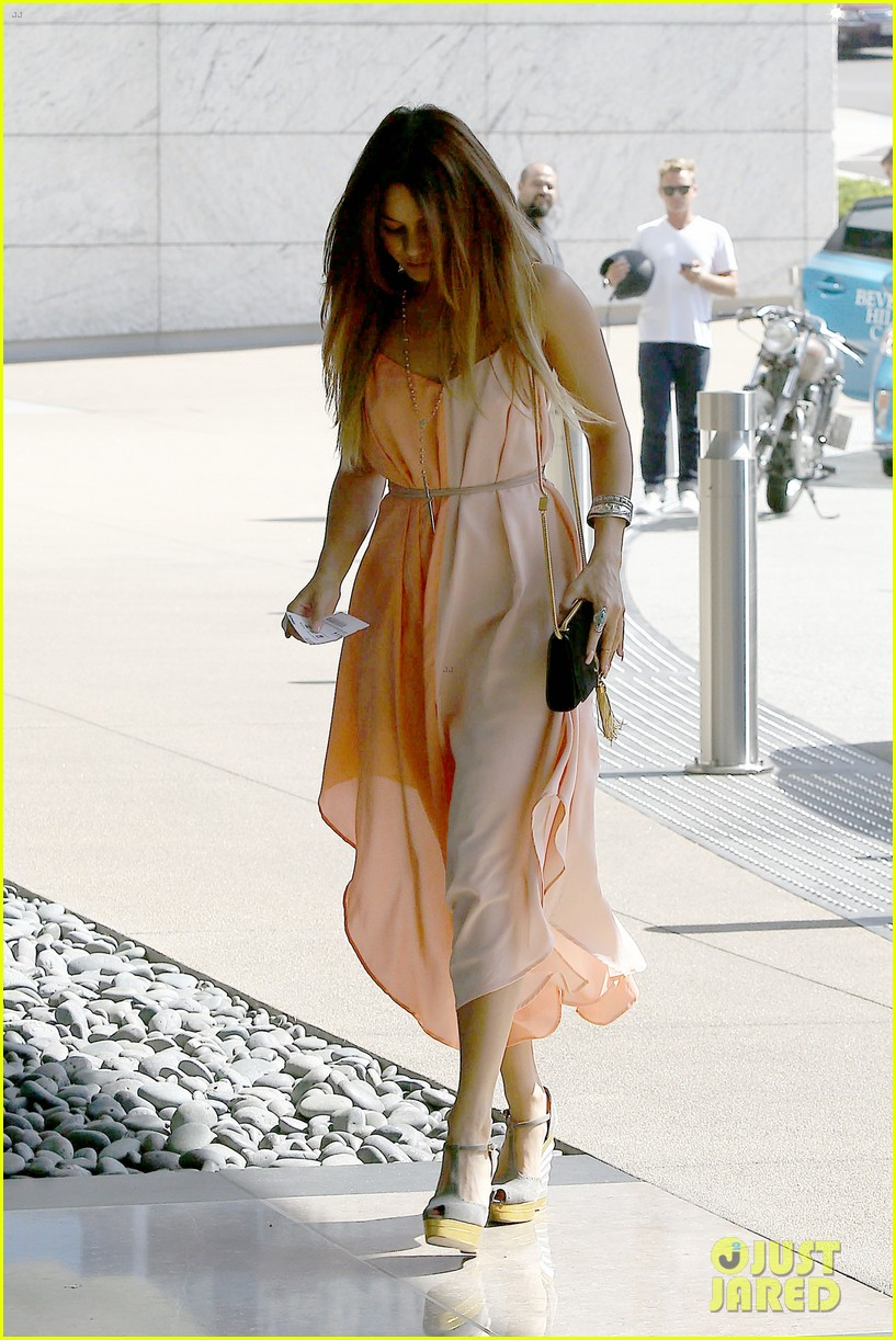 vanessa hudgens steps out for beverly hills meeting 02