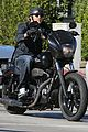 charlie hunnam motorcycle ride on emmys sunday 09