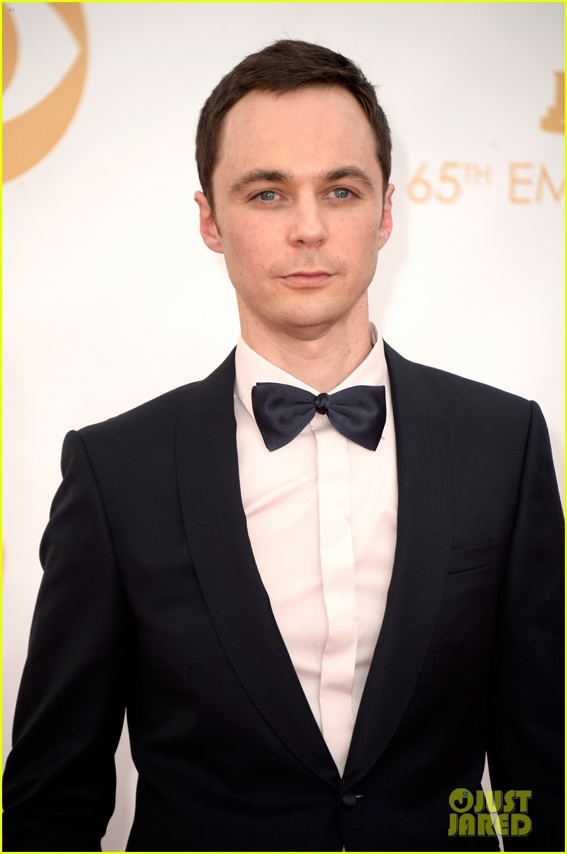 jim parsons emmys 2013 red carpet 012958222
