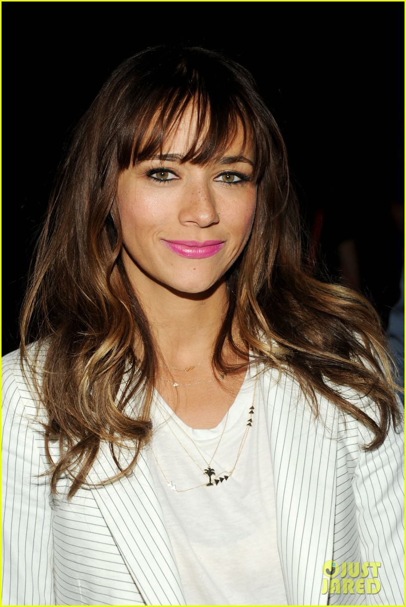 rashida jones lake bell band of outsiders fashion show 08