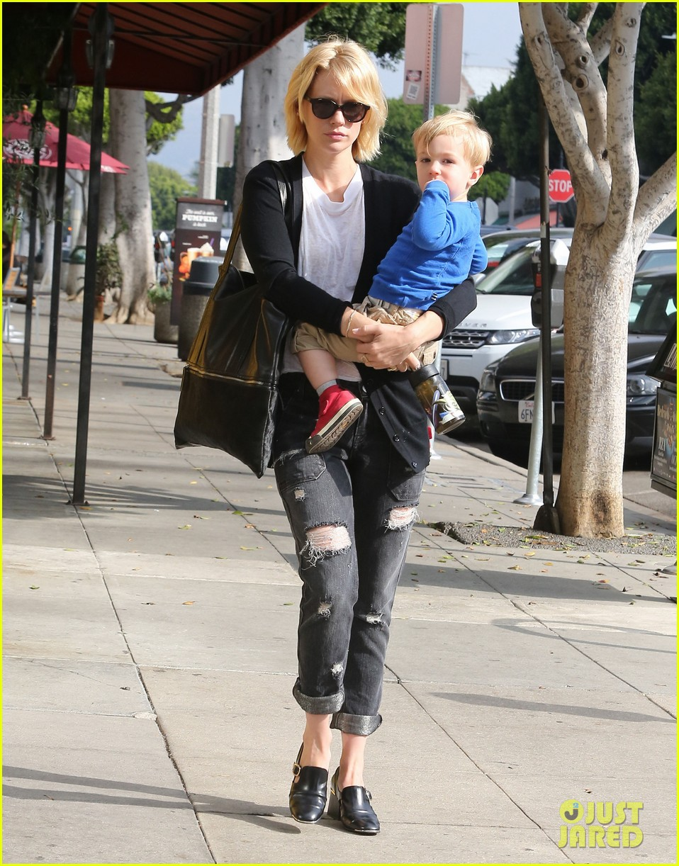 january jones xander are breaking buddies in la 07