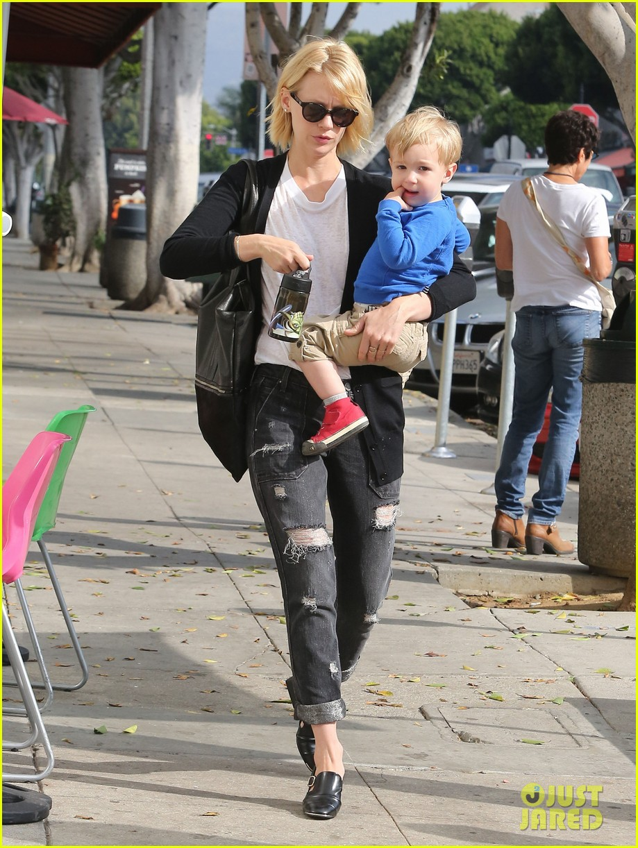 january jones xander are breaking buddies in la 08