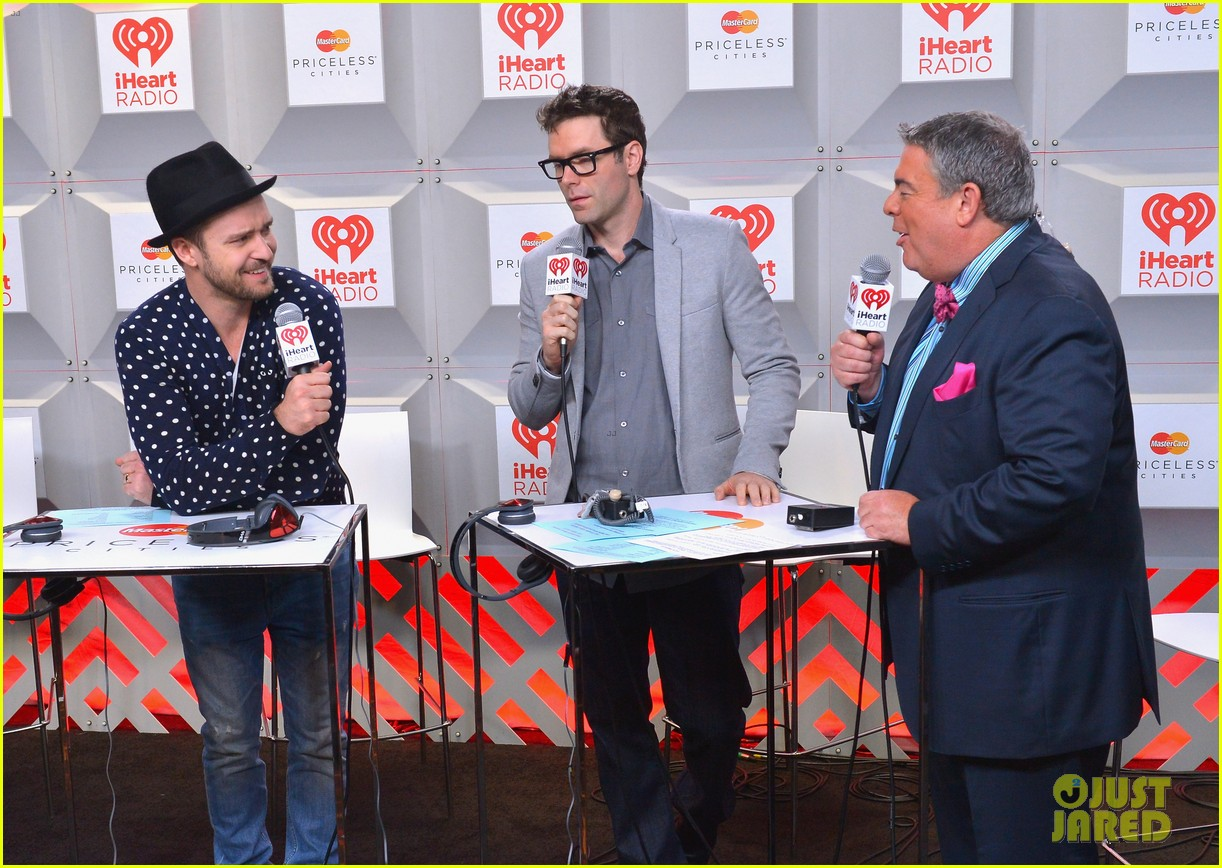 justin timberlake debuts two new songs iheartradio watch 10