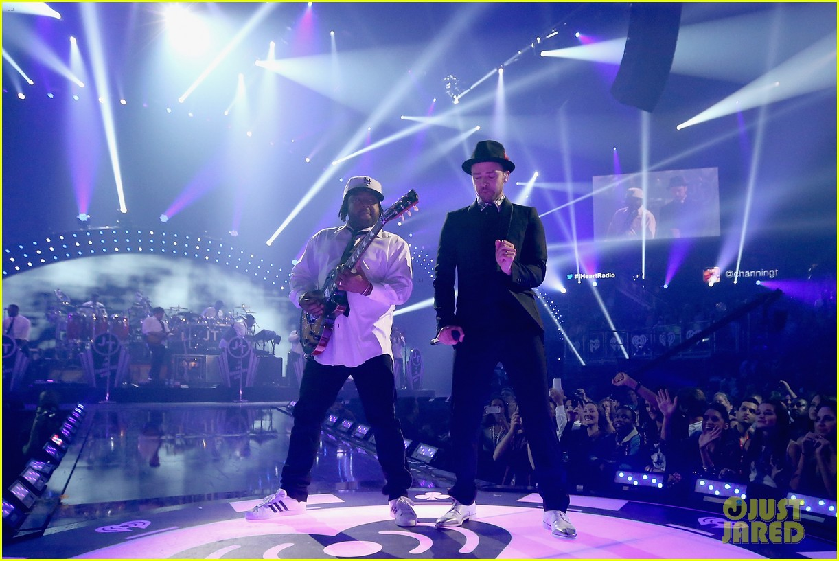 justin timberlake debuts two new songs iheartradio watch 29