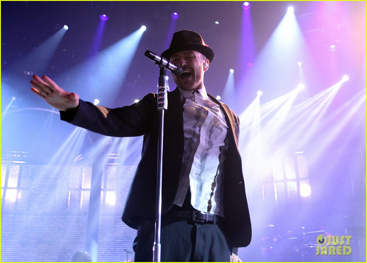 justin timberlake performs itunes music festival 2013 06