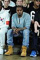 kanye west front row at hood by air fashion show 05