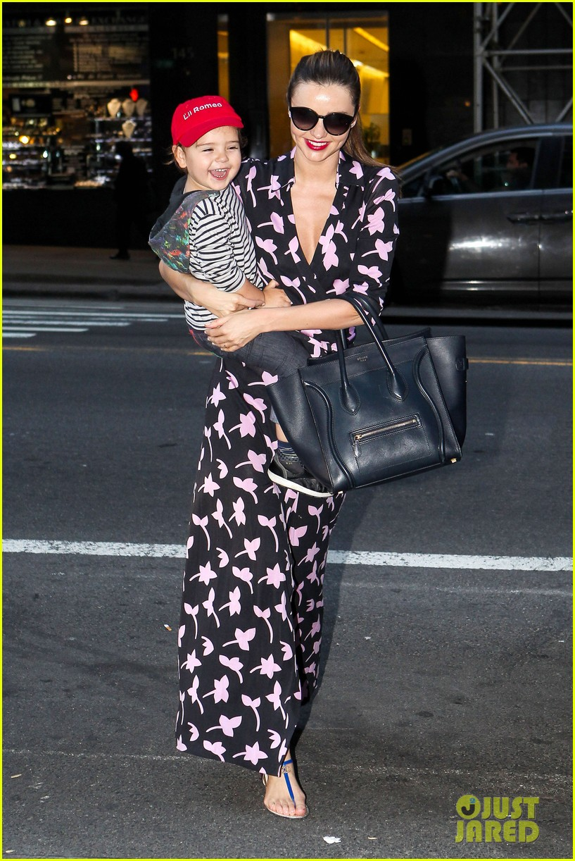 miranda kerr steps out with her lil romeo flynn 01
