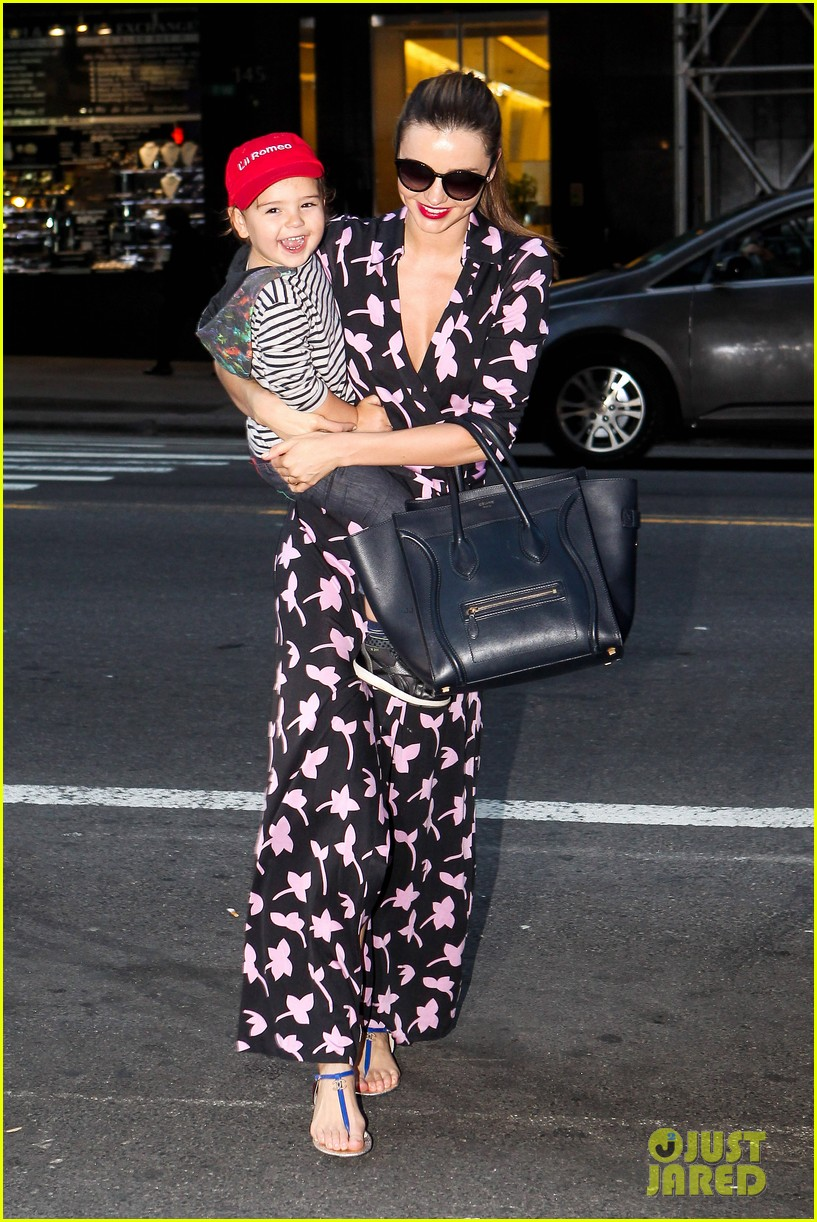 miranda kerr steps out with her lil romeo flynn 03