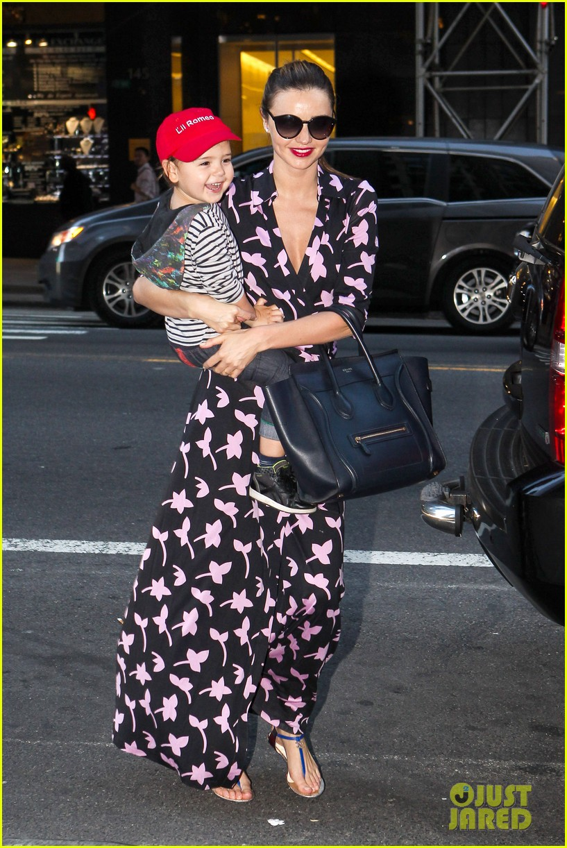 miranda kerr steps out with her lil romeo flynn 06