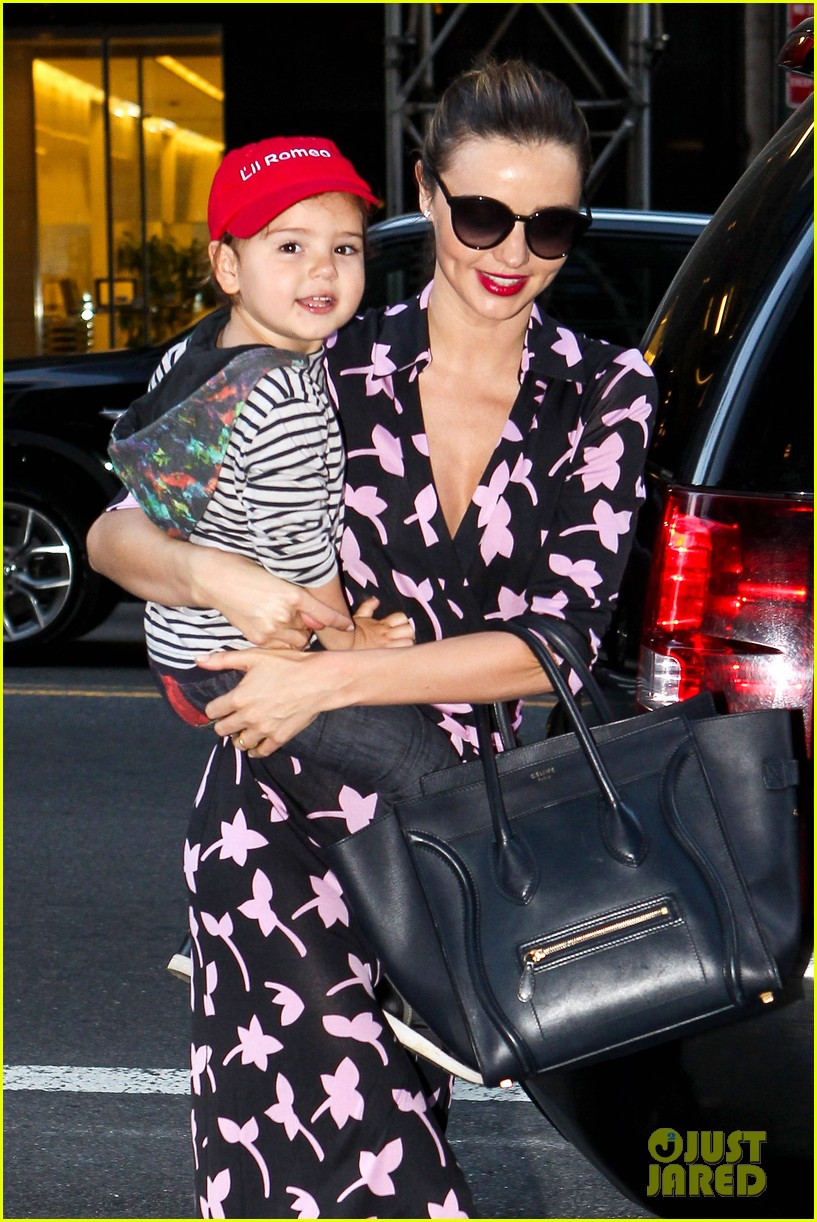 miranda kerr steps out with her lil romeo flynn 07