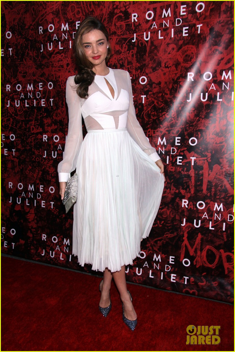 miranda kerr romeo juliet opening to support orlando bloom 112955620
