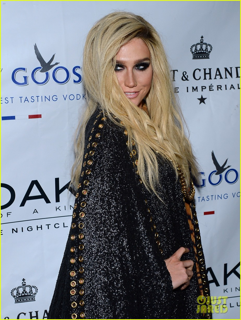 kesha 1 oak nightclub performance in vegas 15