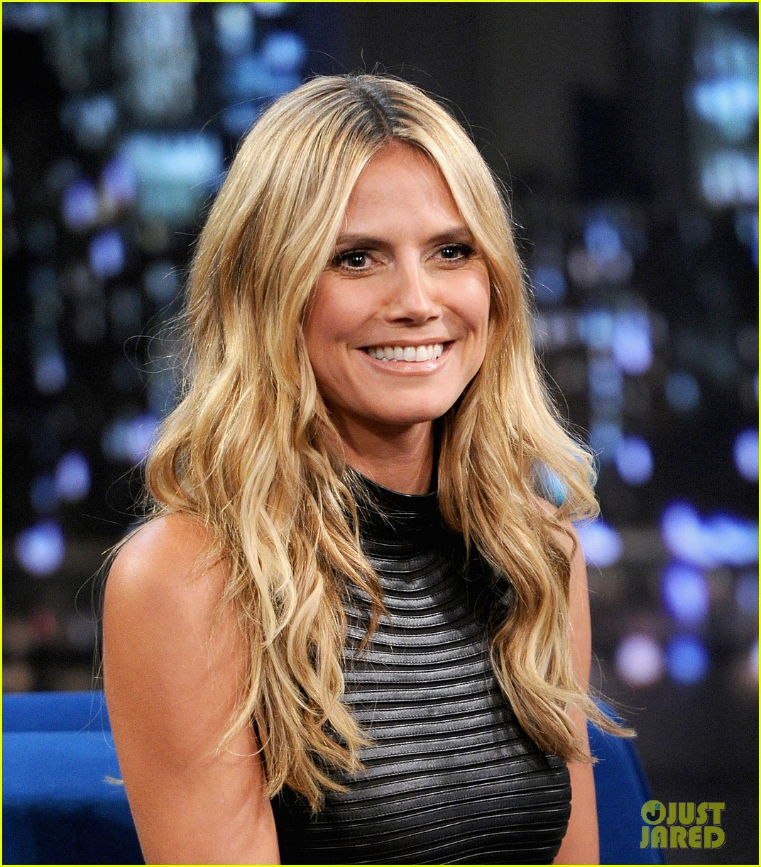 heidi klum terrified to film parks recreation guest spot 222944396