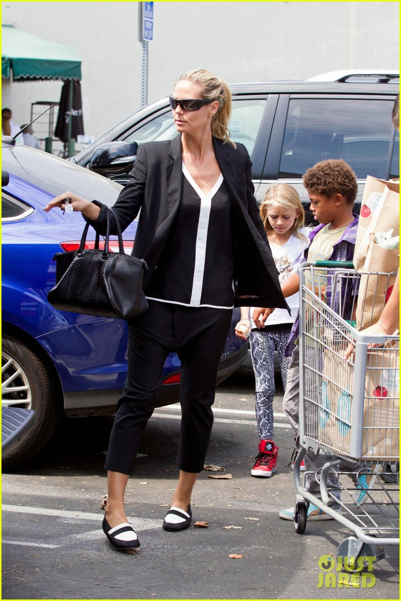 heidi klum martin kirsten soho morning stroll couple 20