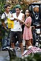 zoe kravitz penn badgley back together in rome 03