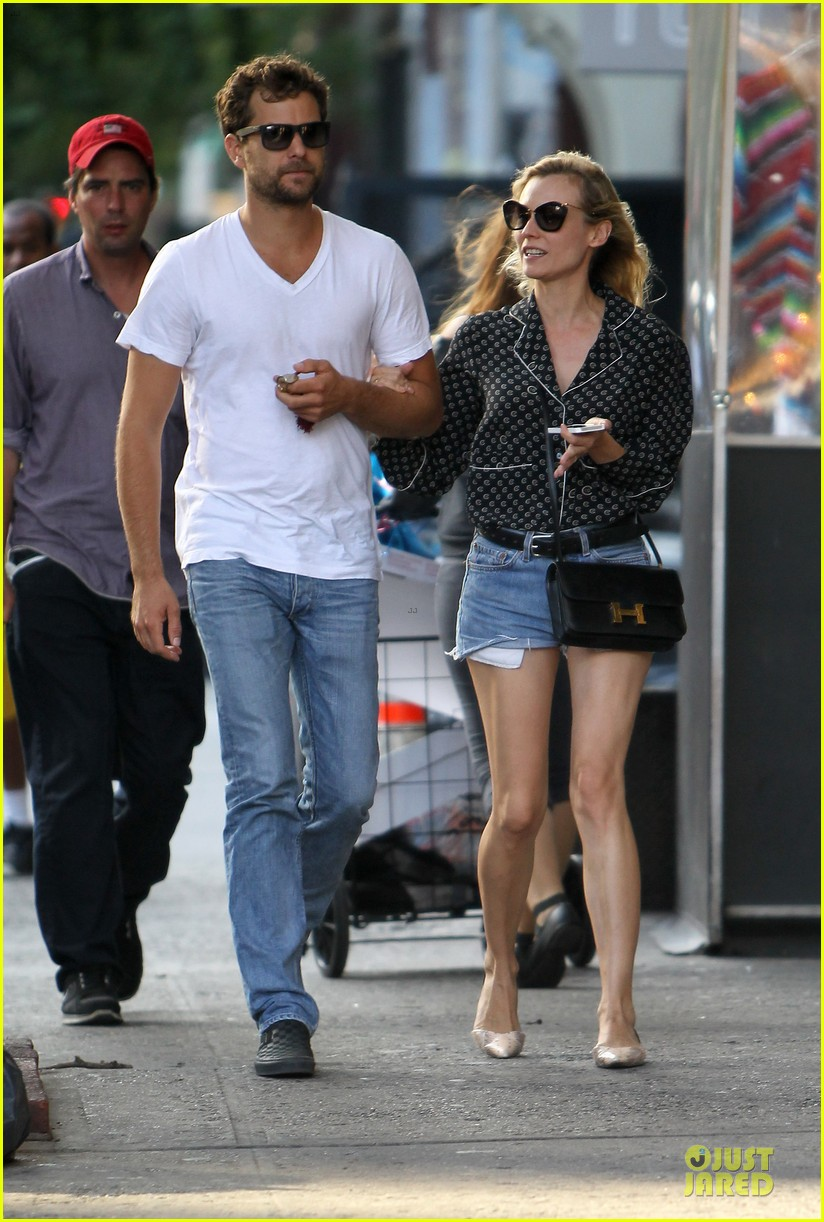 diane kruger joshua jackson hook arms for nyc stroll 07