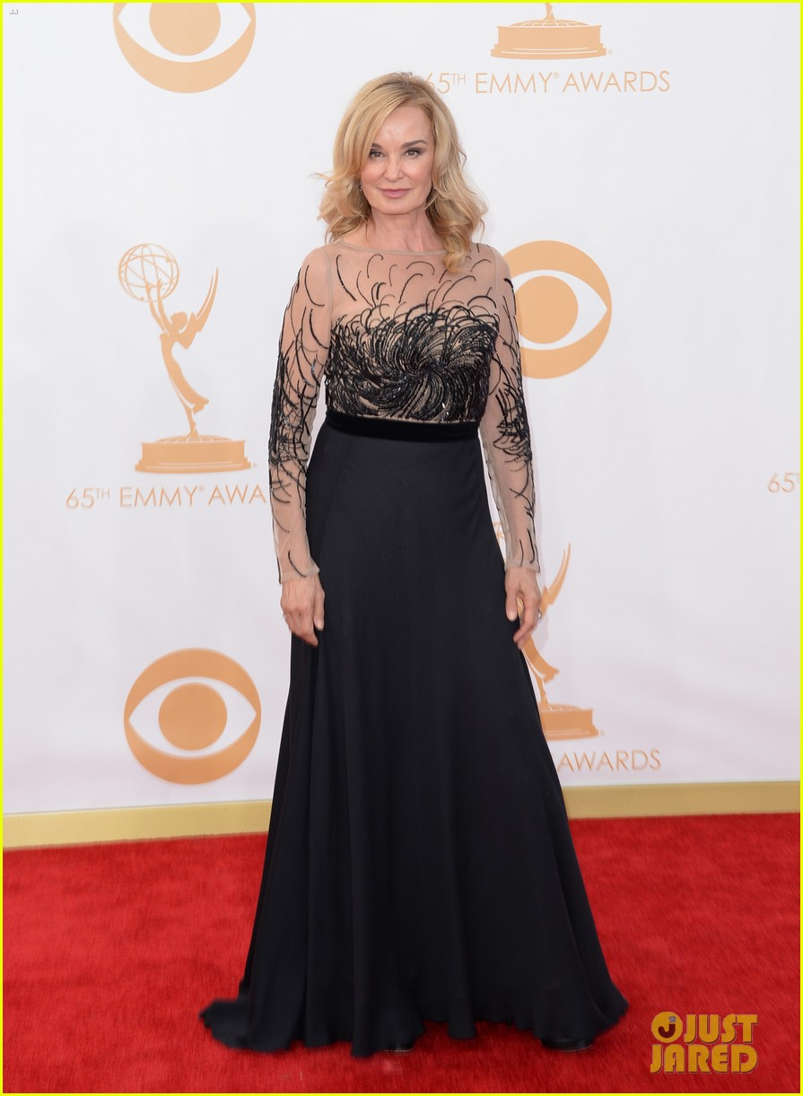 jessica lange dylan mcdermott emmys 2013 red carpet 052958316