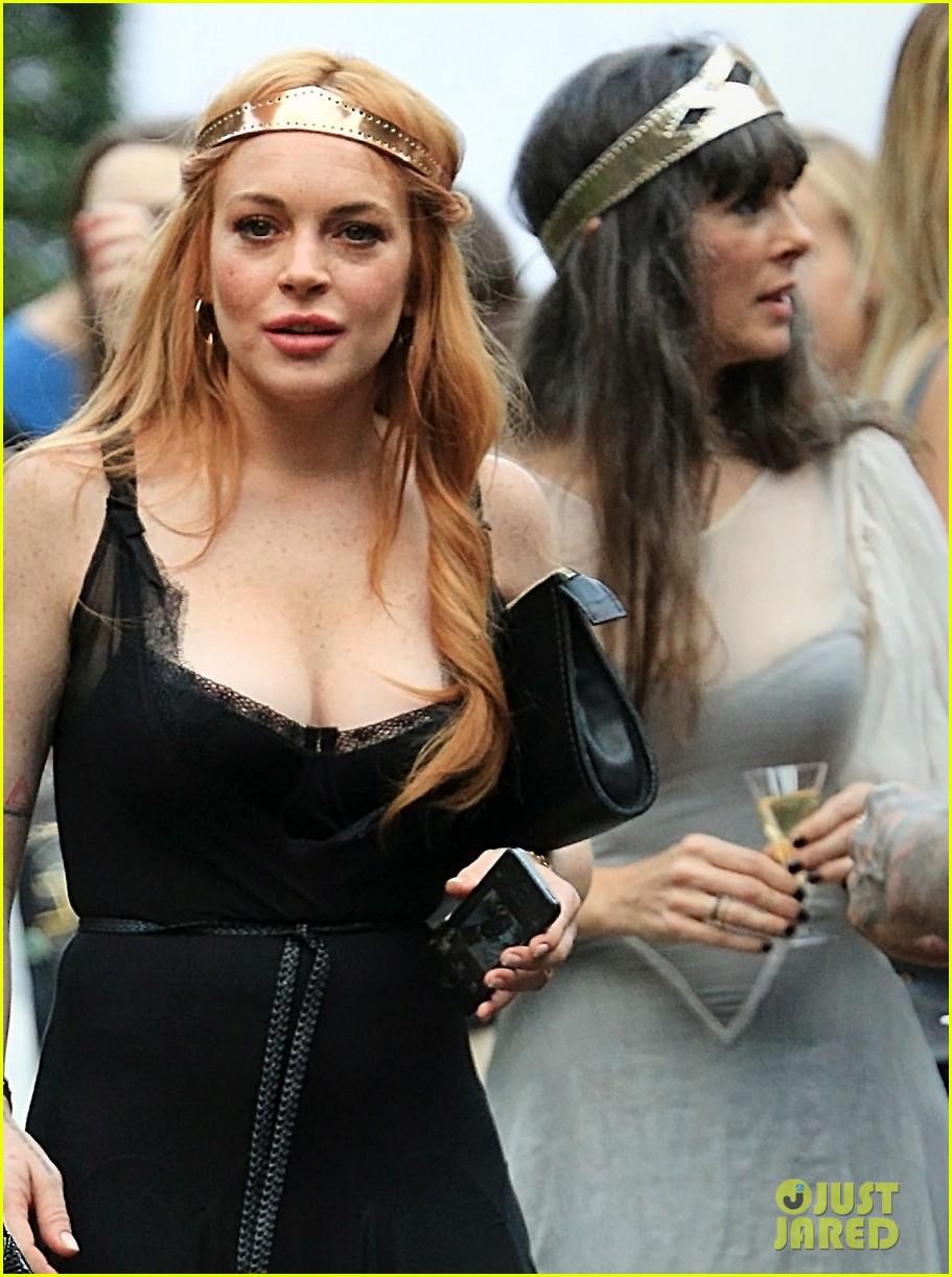 Lindsay Lohan and sister