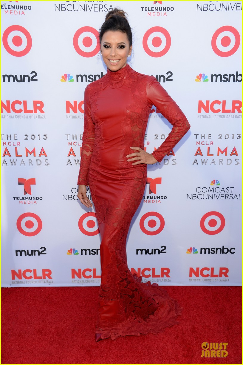 eva longoria multiple dresses as nclr alma awards host 142961518