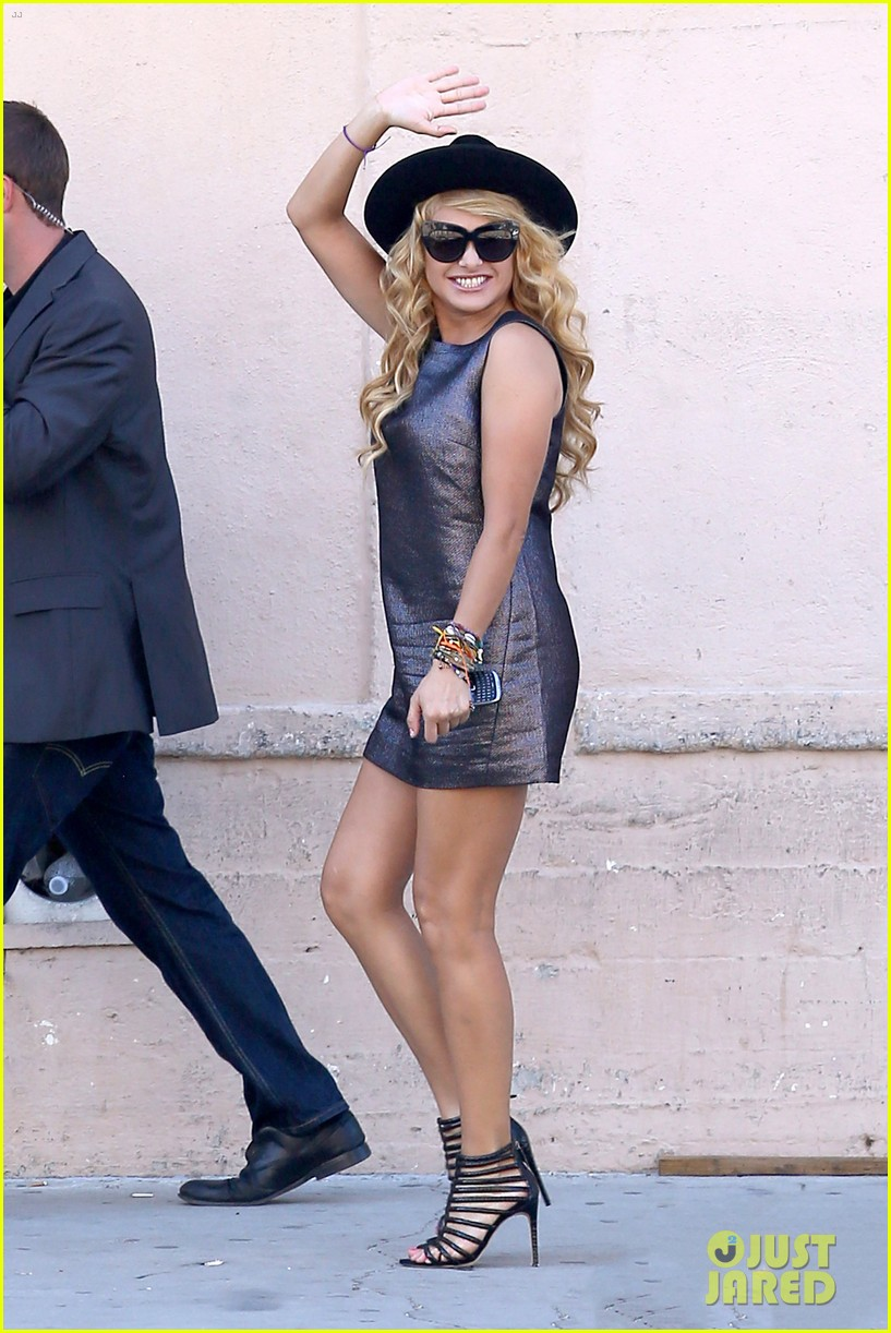 demi lovato x factor weekend taping with paulina rubio 18