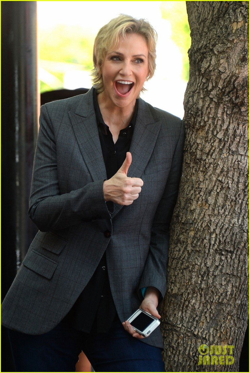 jane lynch receives star on hollywood walk of fame 11