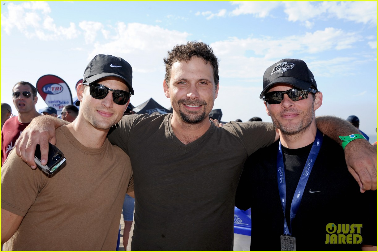 james marsden jeremy sisto nautica malibu triathlon 2013 01