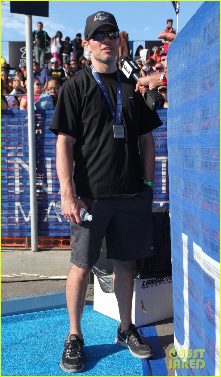 james marsden jeremy sisto nautica malibu triathlon 2013 032947862