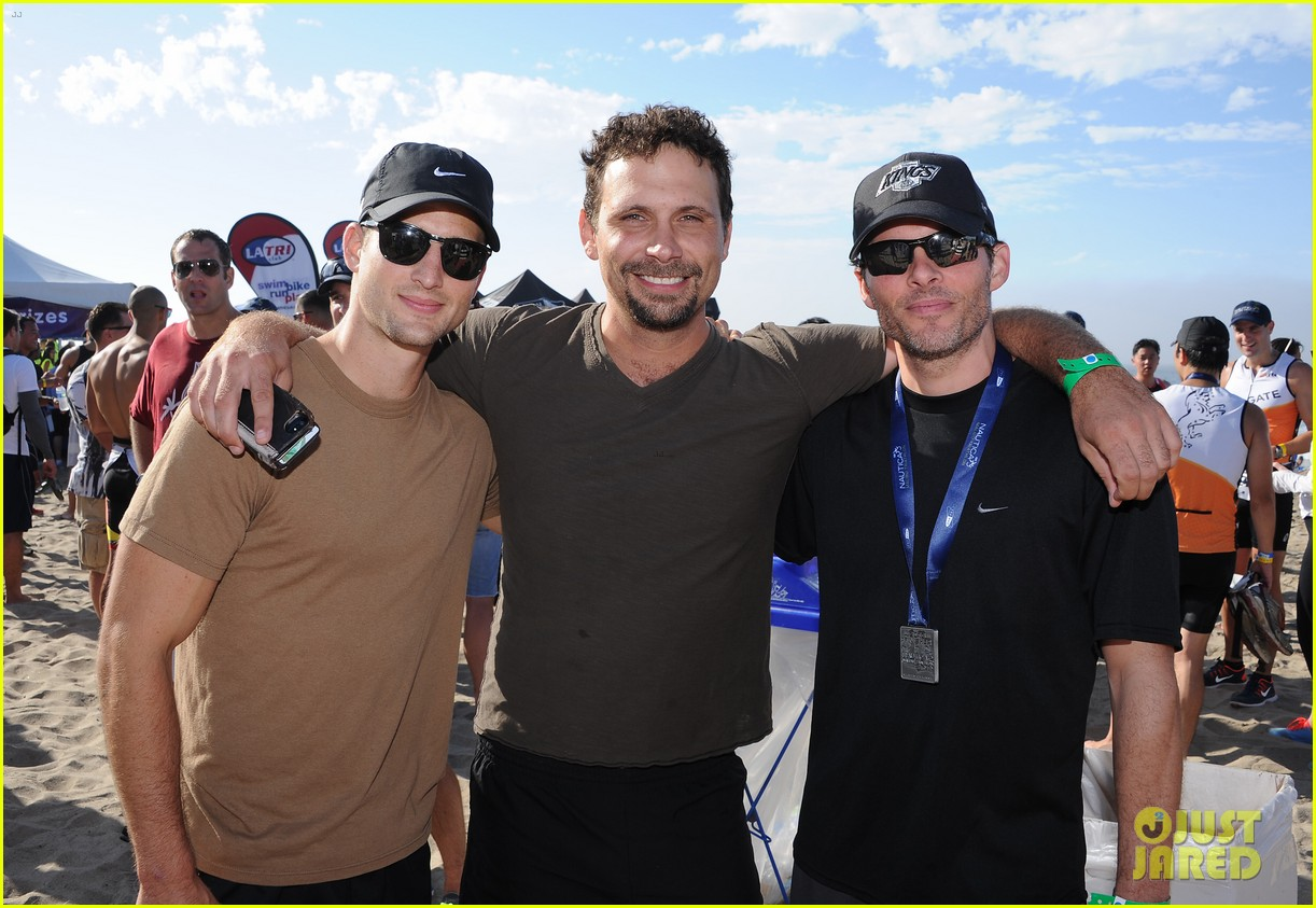 james marsden jeremy sisto nautica malibu triathlon 2013 092947868