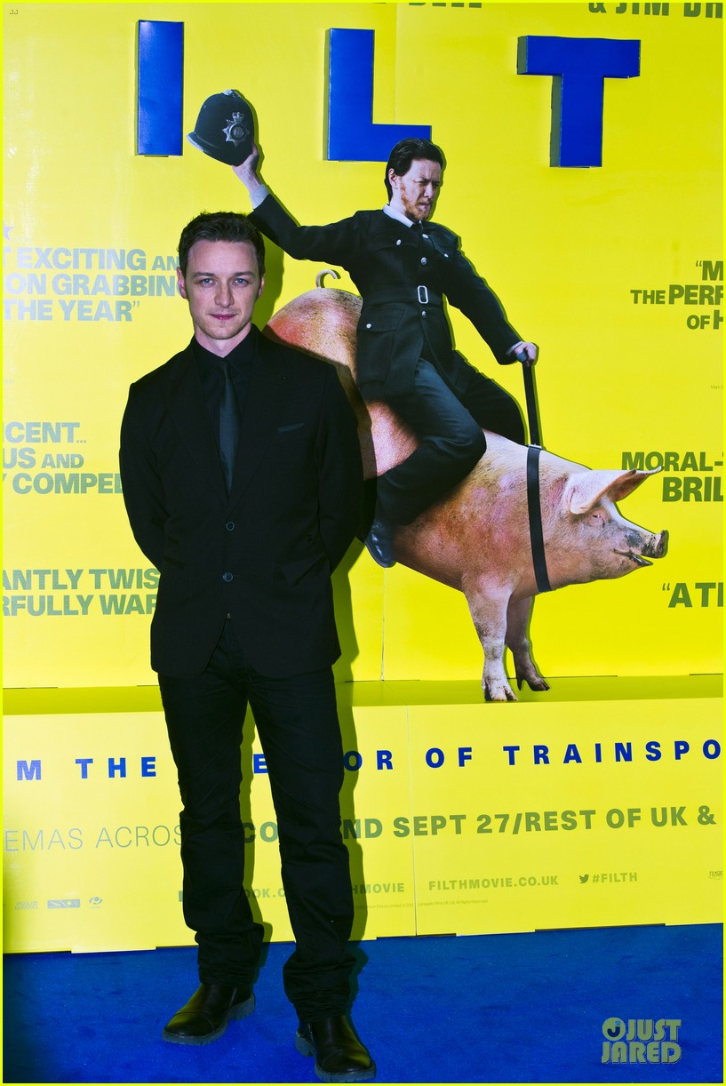 james mcavoy filth scotland premiere 01
