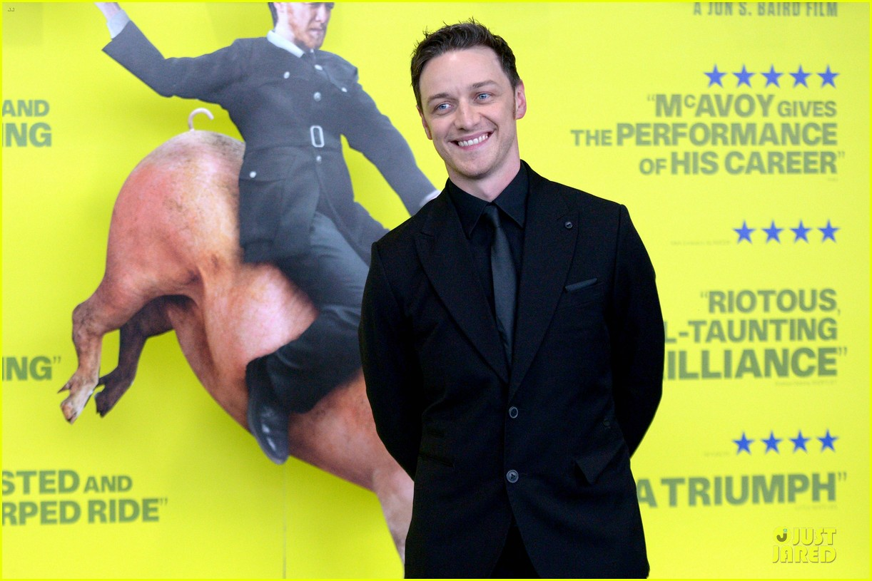james mcavoy filth scotland premiere 02