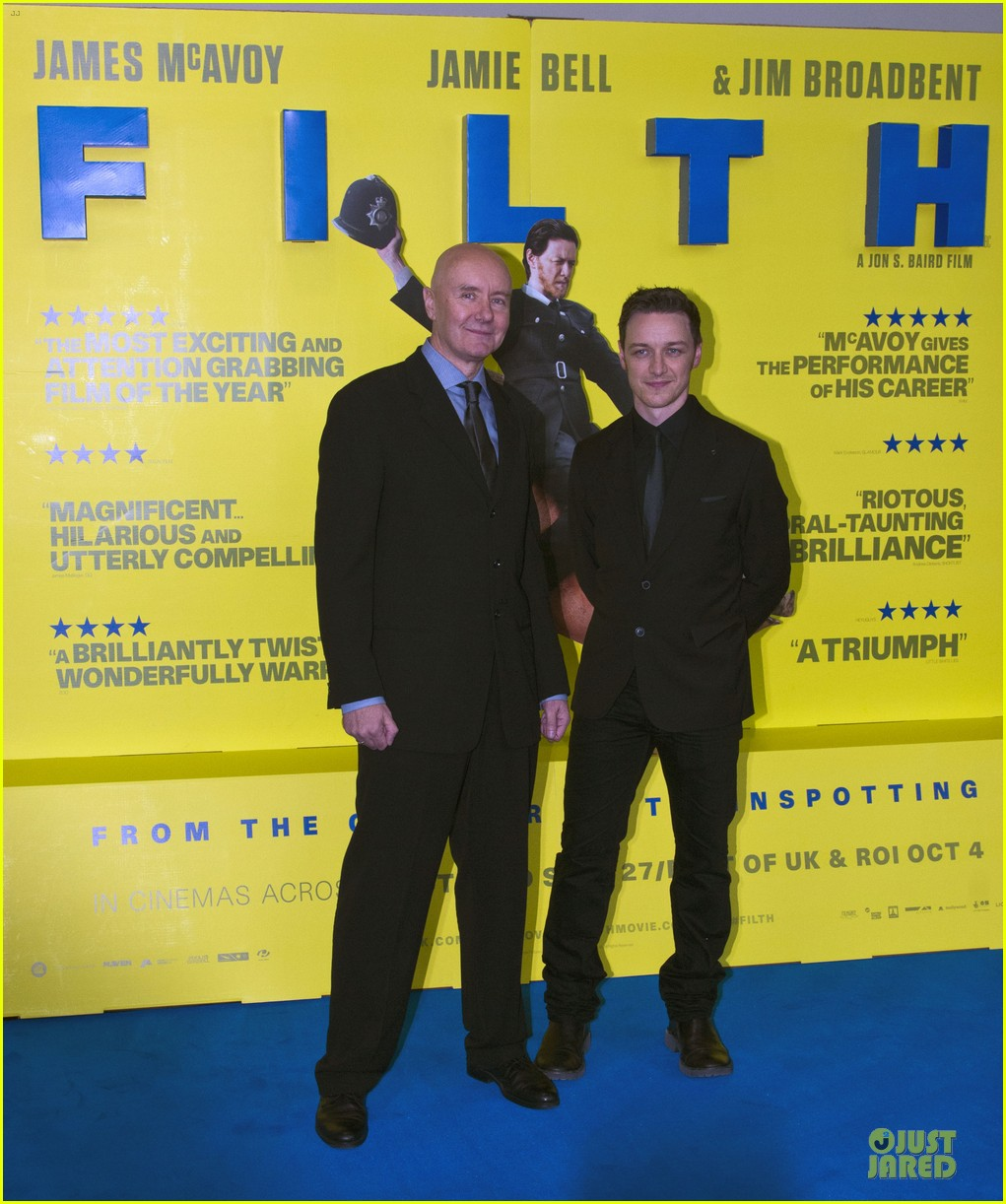 james mcavoy filth scotland premiere 18